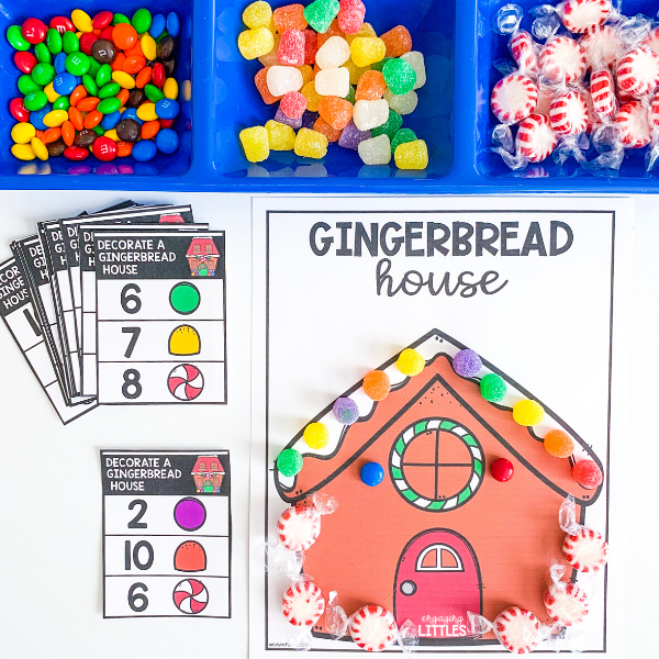 gingerbread counting activity