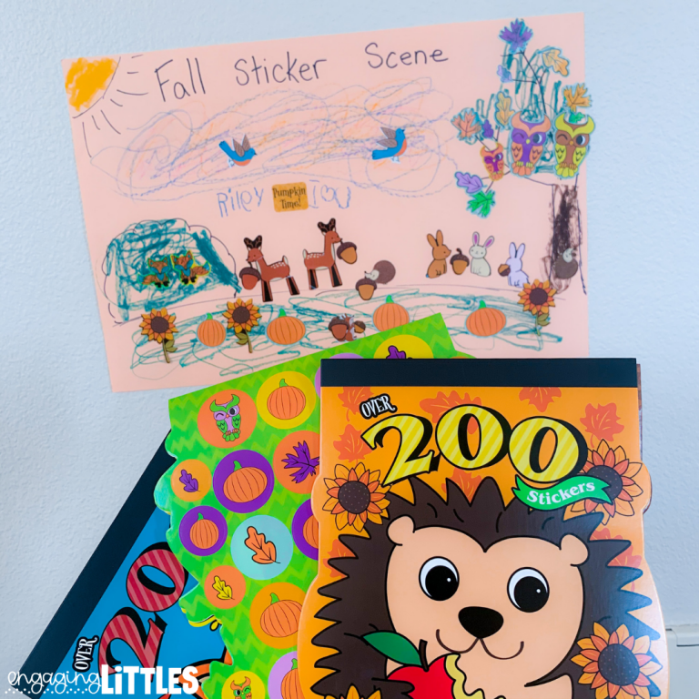 simple sticker activities