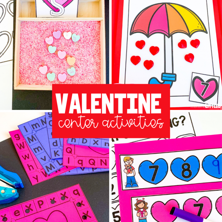 Valentine'sDay Centers for Preschool