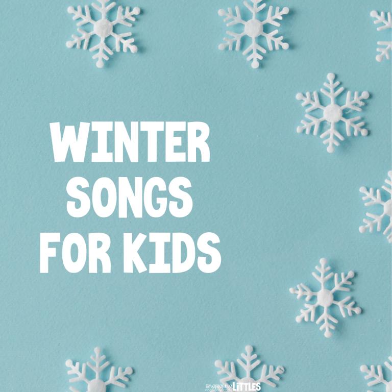 preschool winter songs