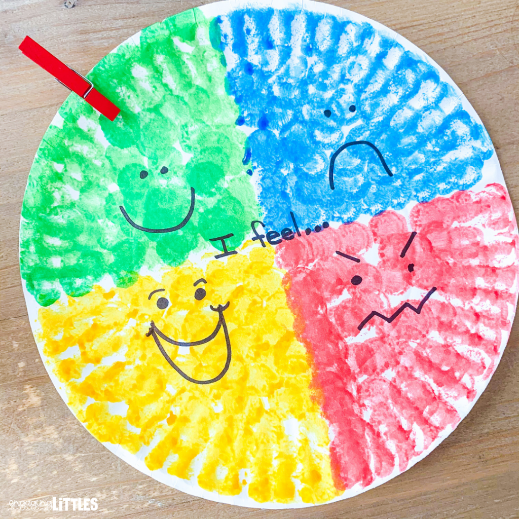 feelings wheel for kids