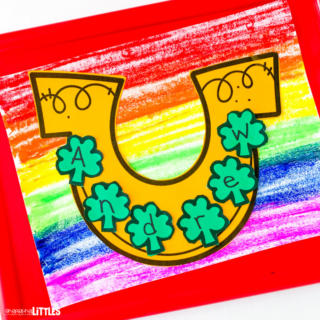 St. Patrick's Day Name Craft