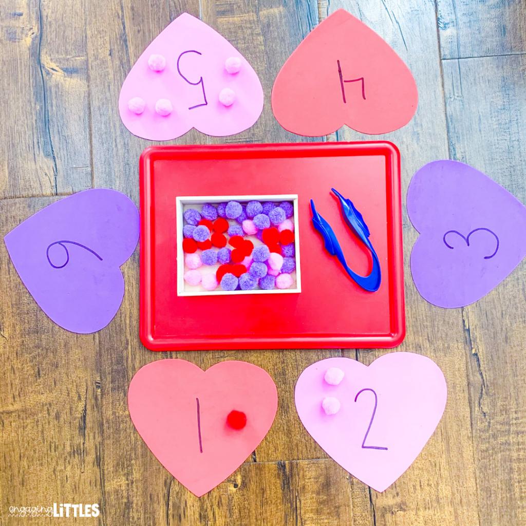 valentine's day math for preschool