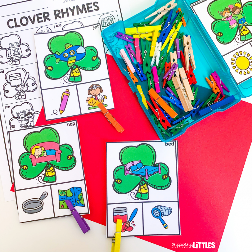 kids rhyming center for march