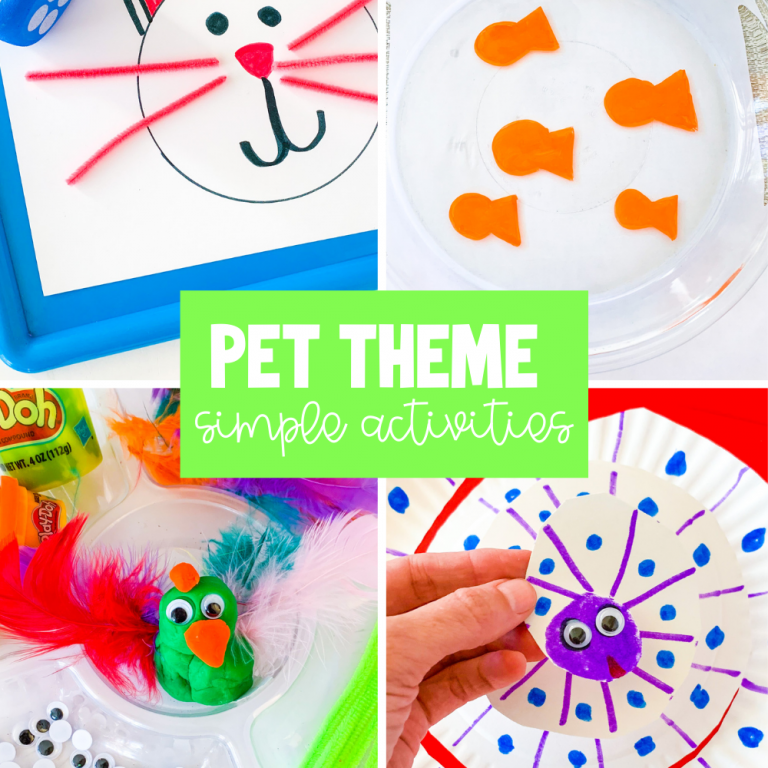 pets simple activity ideas