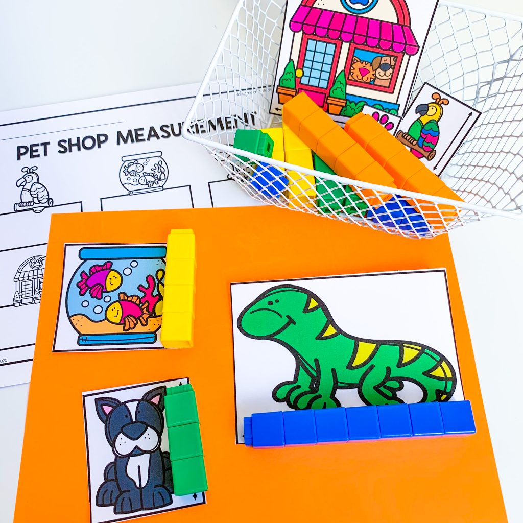 pet themed math activities