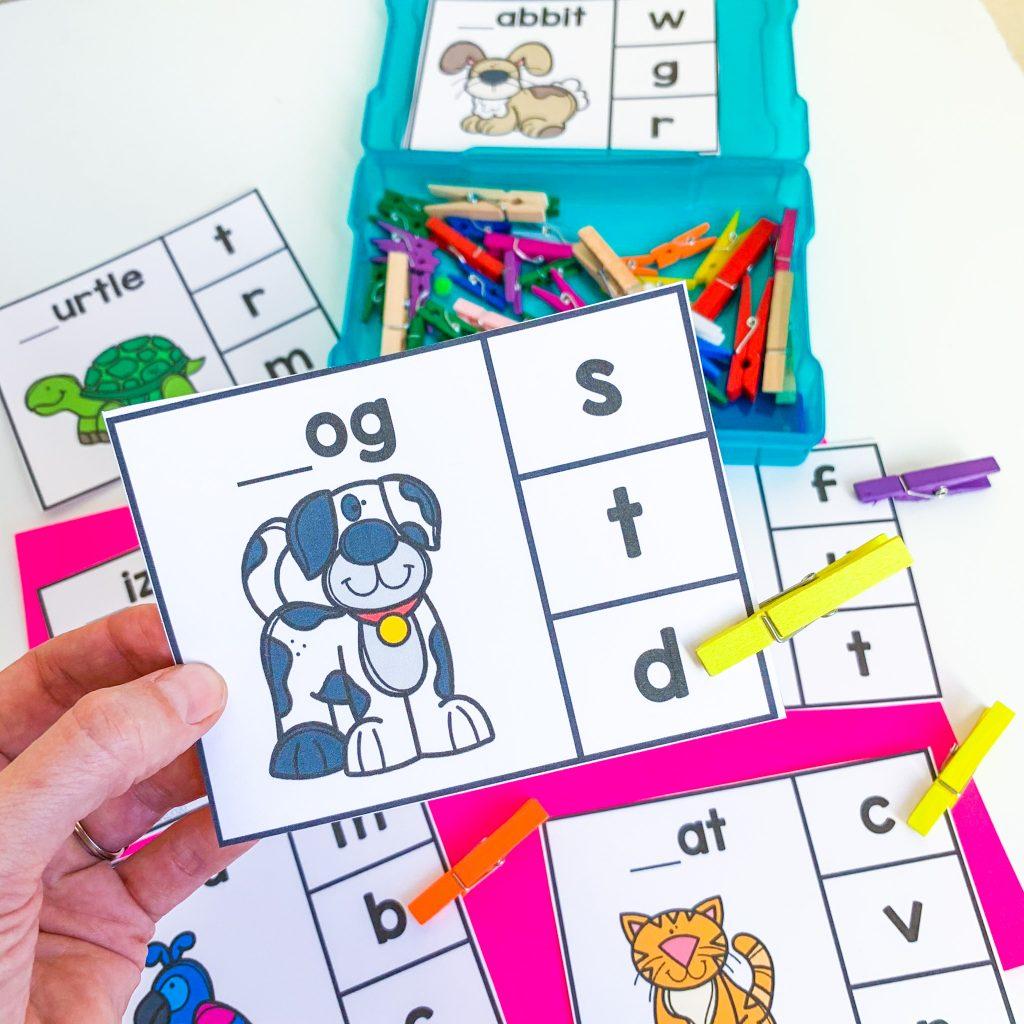 preschool pets activities
