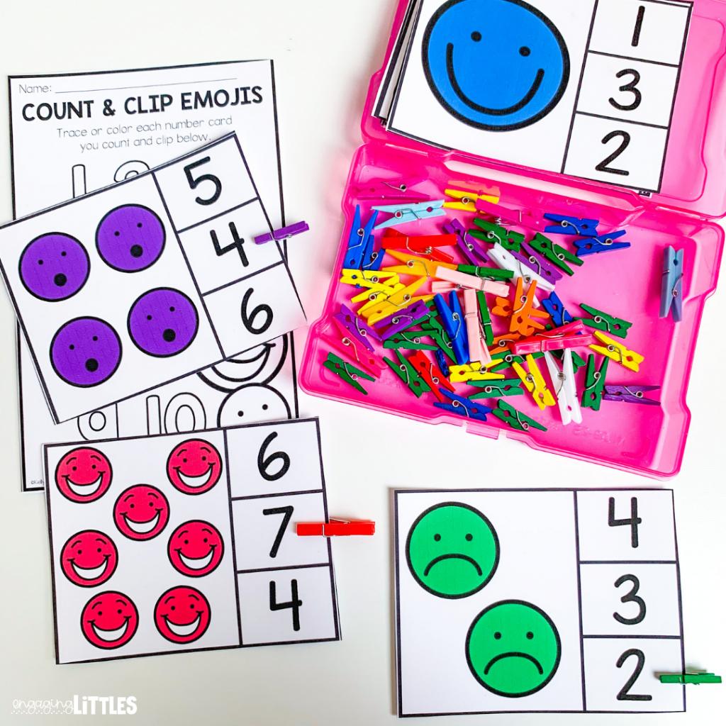 emoji feelings kids activity