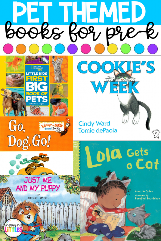 pet themed books for kids