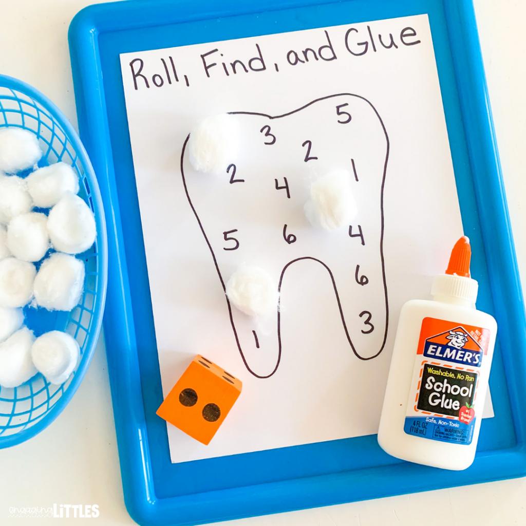 kids dental health activities