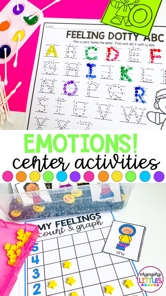 emotion themed activities for prek