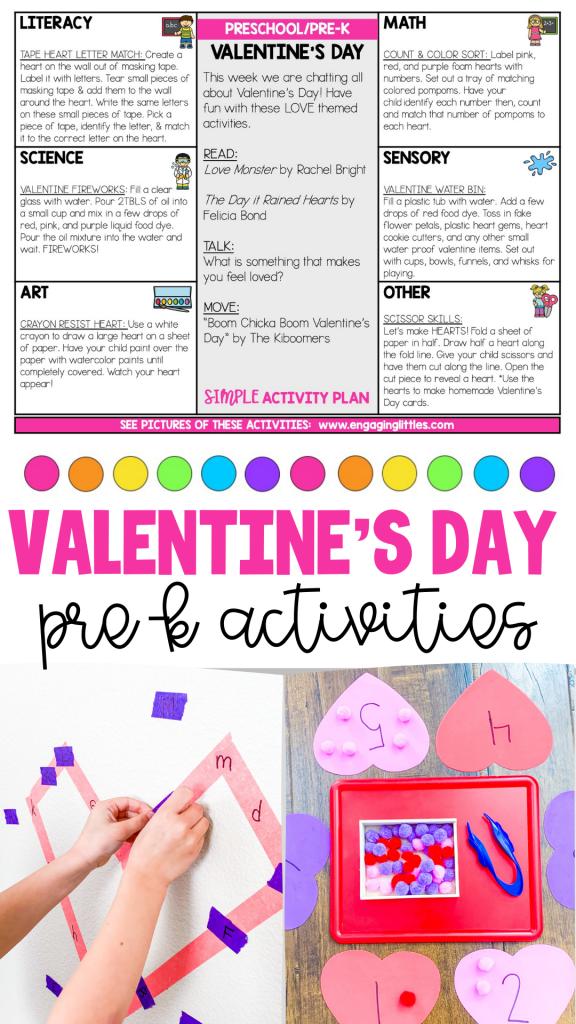 Valentine's Day Kid Activities