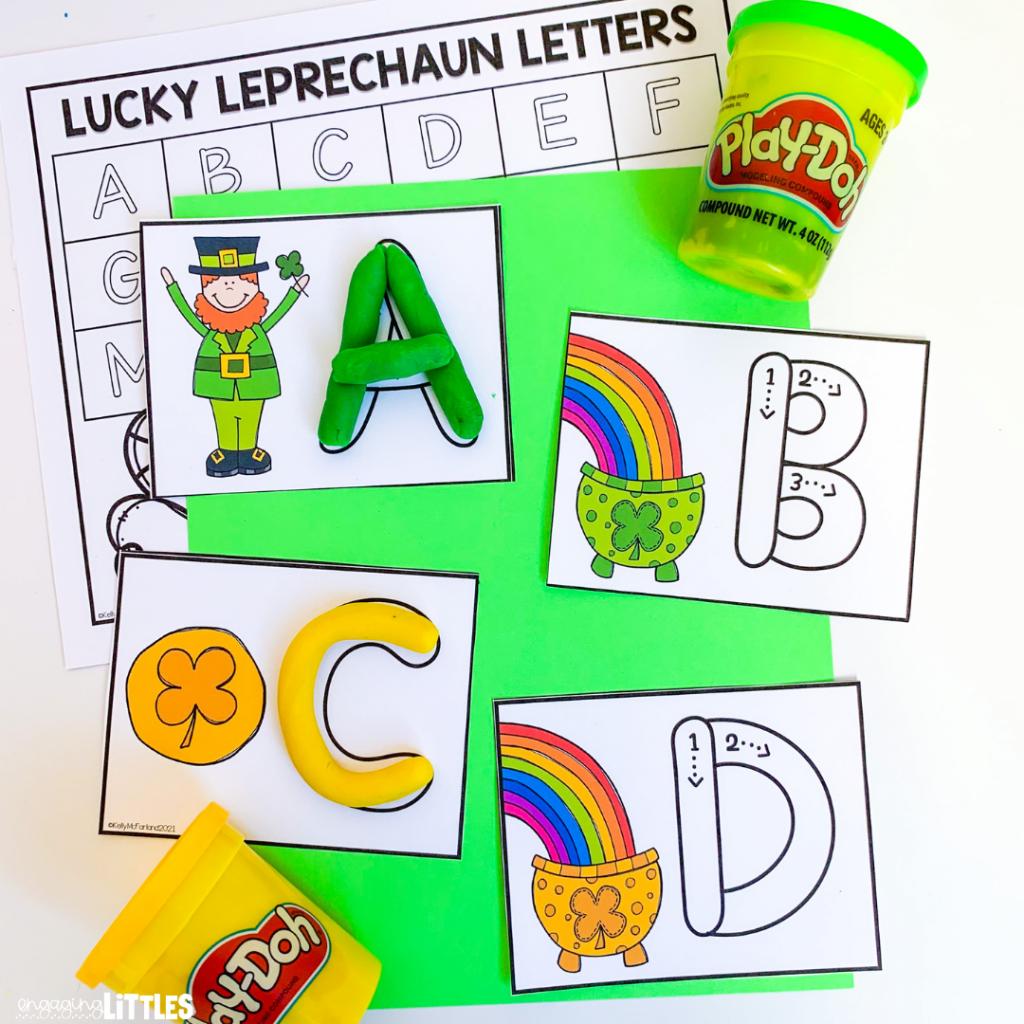 St. Patrick's Dat Literacy Centers