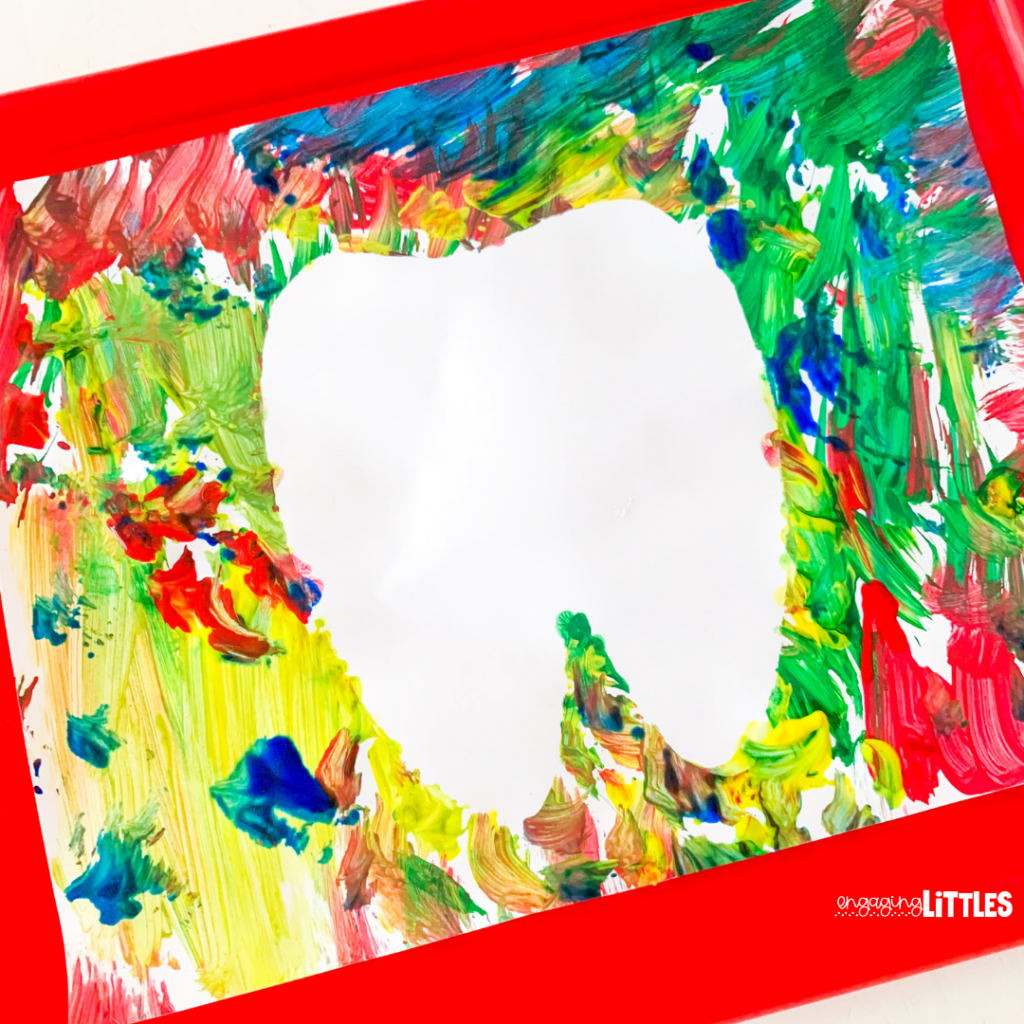 tooth art for dental health activities