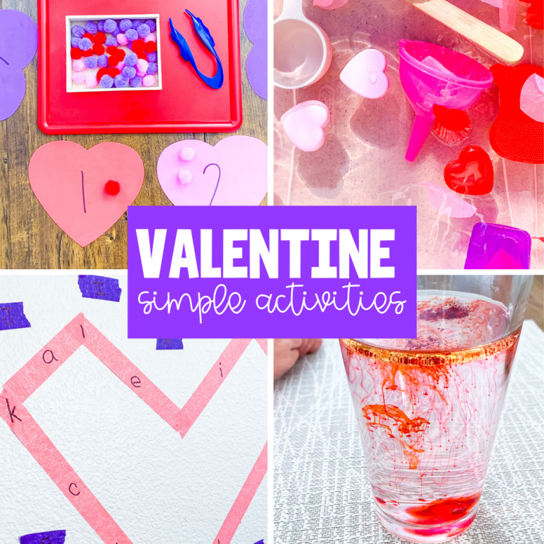valentine simple activities for kids