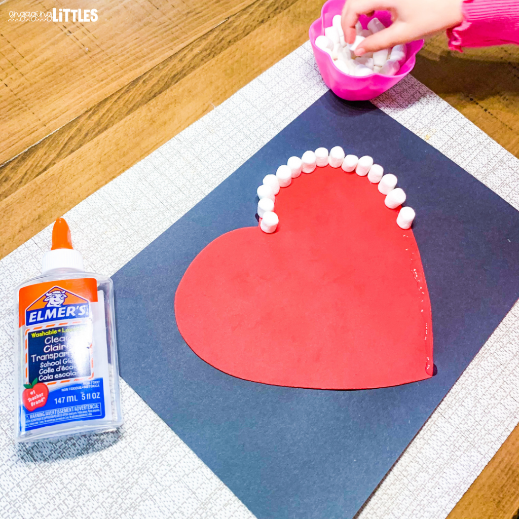 kids heart craft