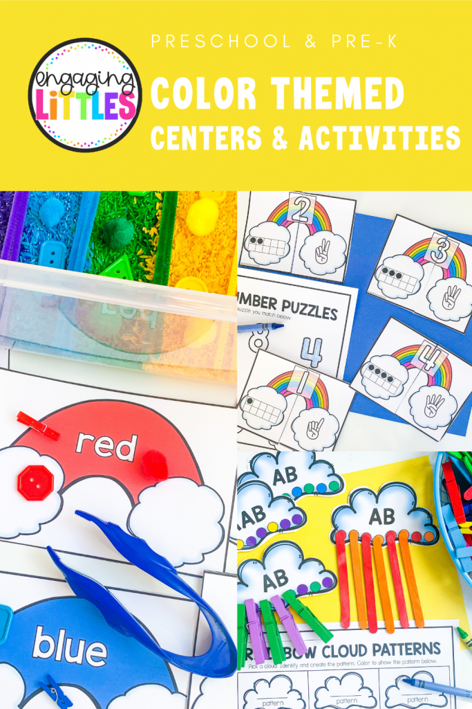 color themed centers