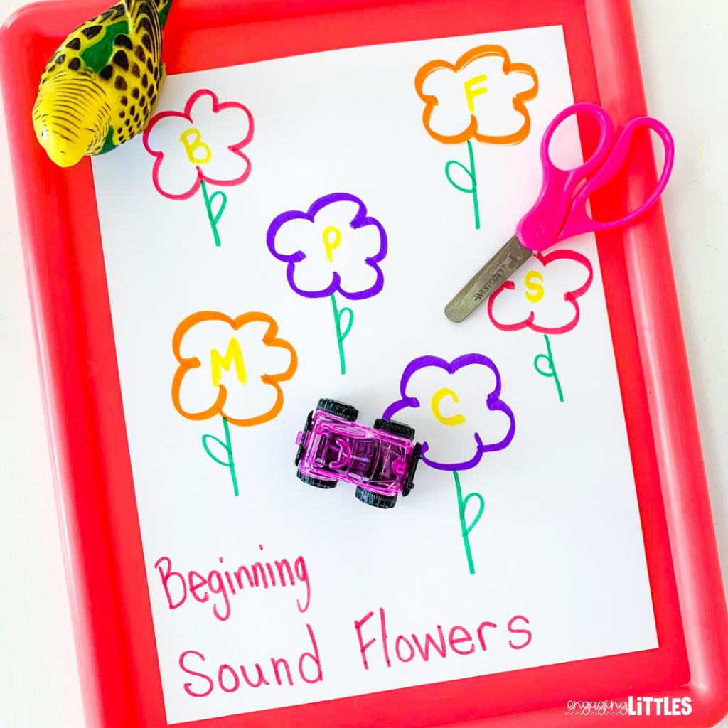 preschool spring literacy idea