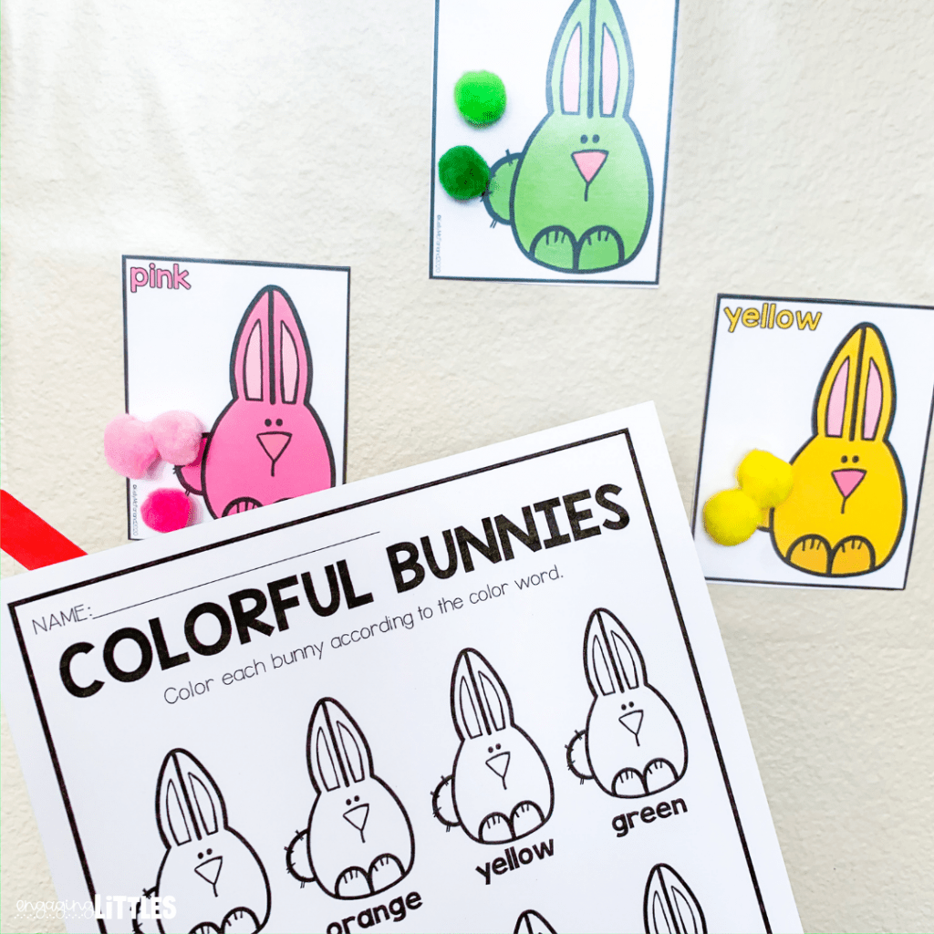 color sorting for kids