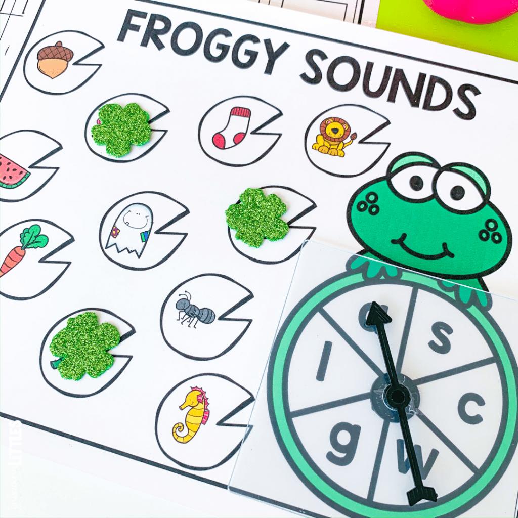 beginning sounds for preschool