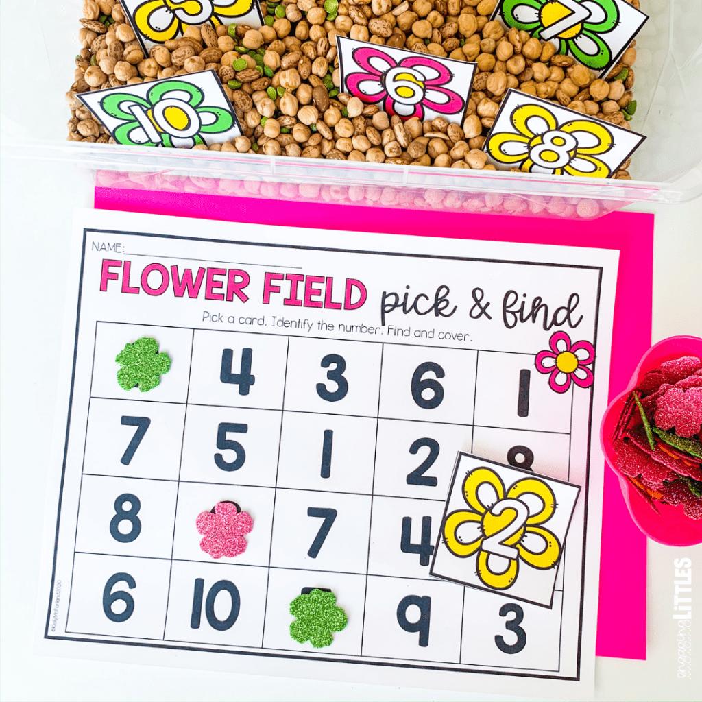 spring number centers