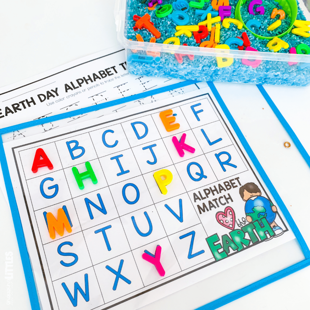 free earth day letter activity