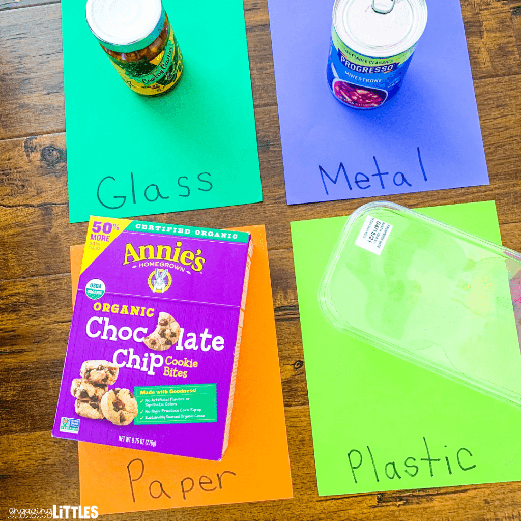 recycling activity for kids