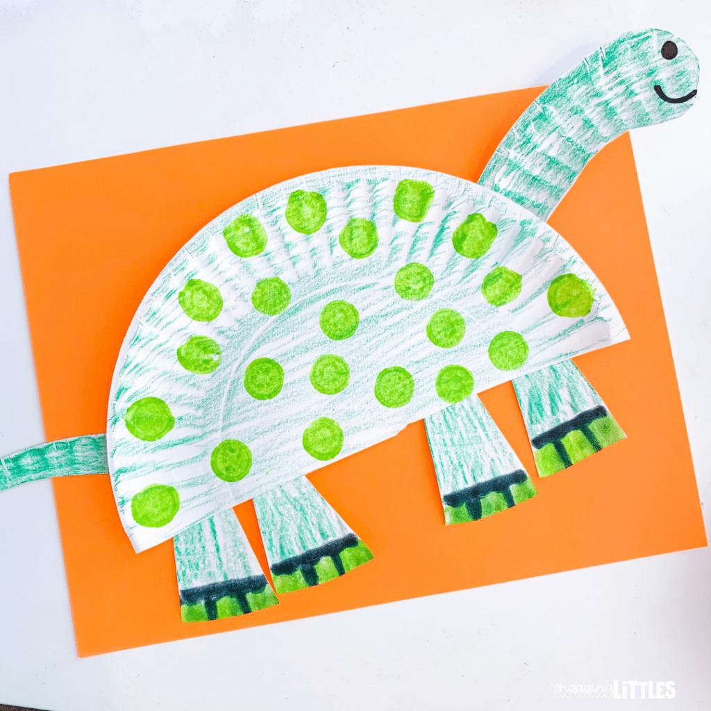 easy dinosaur craft