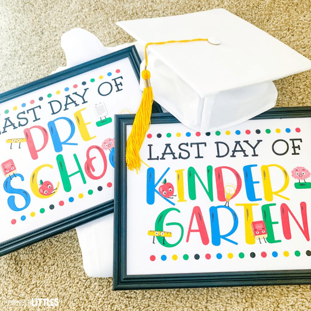 kindergarten last day of school